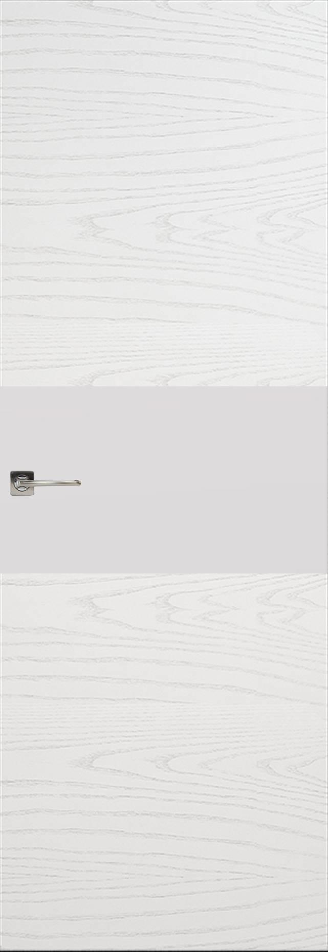 Tivoli Е-4 Invisible цвет - Ясень белая эмаль Без стекла (ДГ)