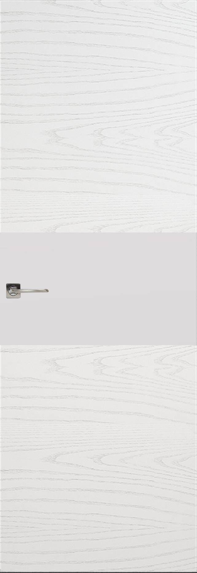 Tivoli Е-4 Невидимка цвет - Ясень белая эмаль Без стекла (ДГ)
