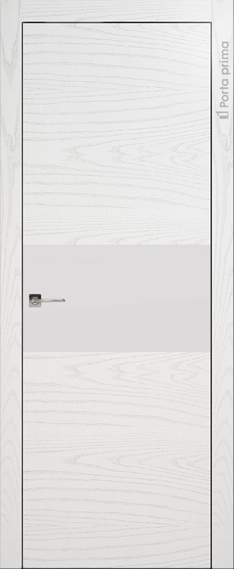 Tivoli Е-4 цвет - Белый ясень (шпон) Без стекла (ДГ)