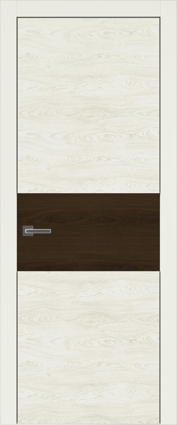 Tivoli Е-4 цвет - Жемчужная эмаль по шпону (RAL 1013) Без стекла (ДГ)