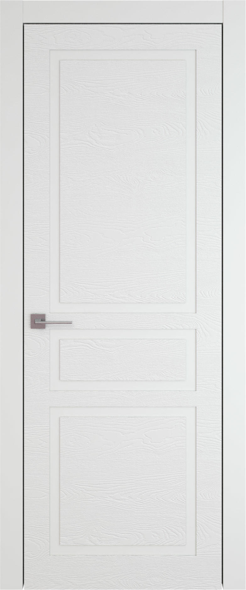 Tivoli Е-5 цвет - Белая эмаль по шпону (RAL 9003) Без стекла (ДГ)