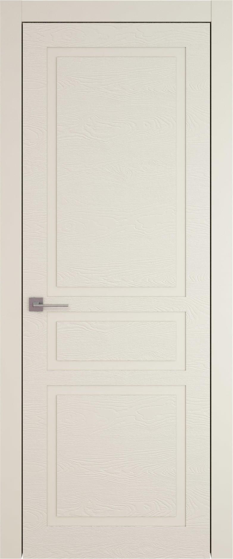 Tivoli Е-5 цвет - Жемчужная эмаль по шпону (RAL 1013) Без стекла (ДГ)