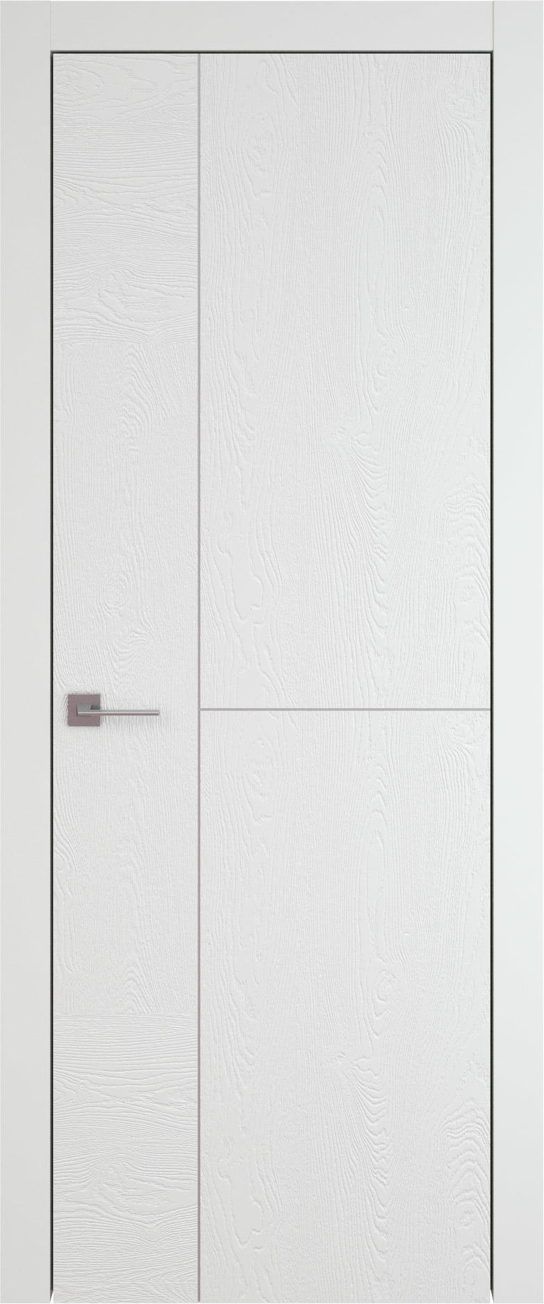Tivoli Г-1 цвет - Белая эмаль по шпону (RAL 9003) Без стекла (ДГ)