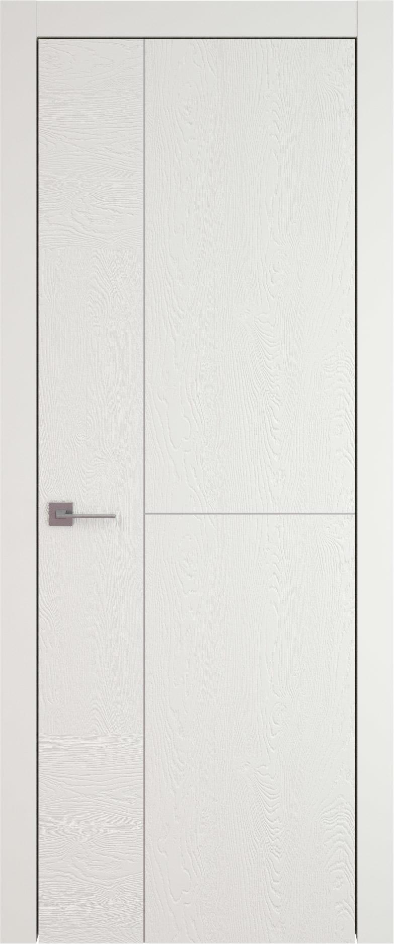 Tivoli Г-1 цвет - Бежевая эмаль по шпону (RAL 9010) Без стекла (ДГ)