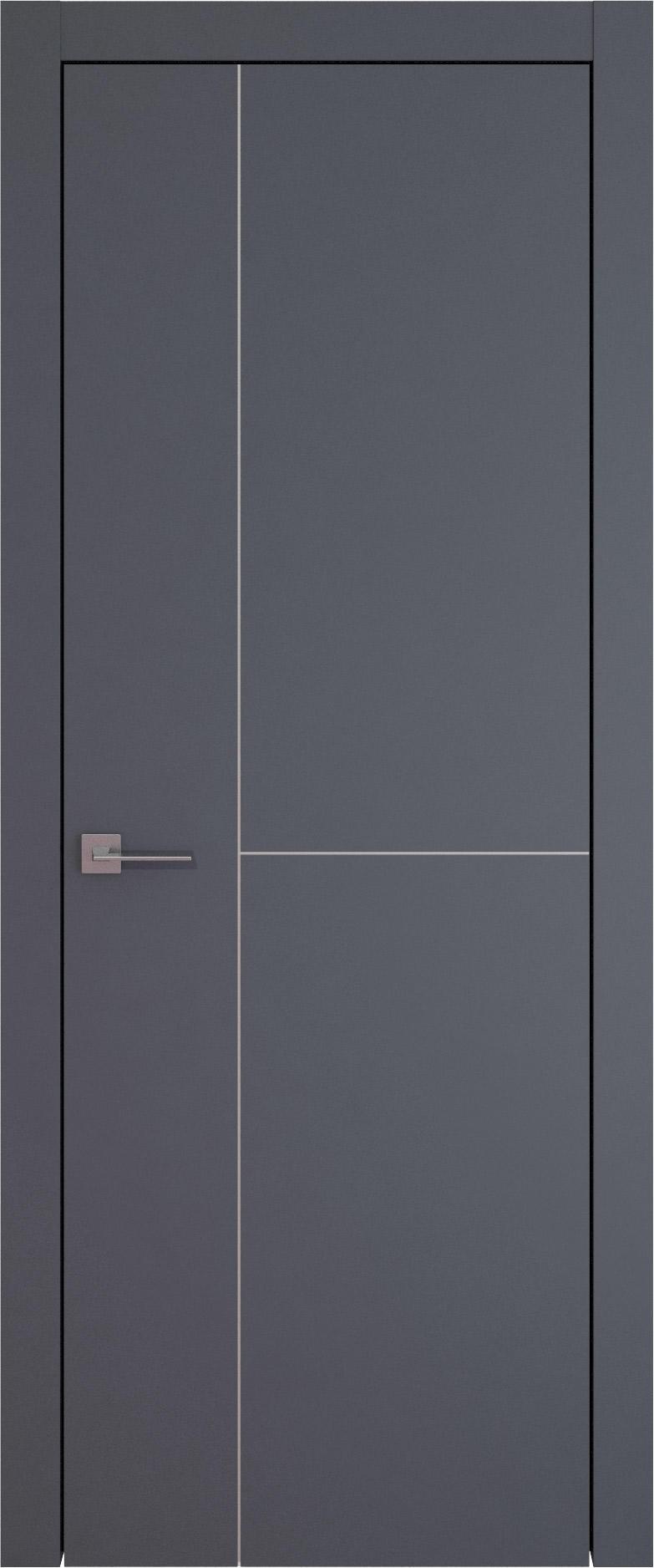 Tivoli Г-1 цвет - Графитово-серая эмаль (RAL 7024) Без стекла (ДГ)
