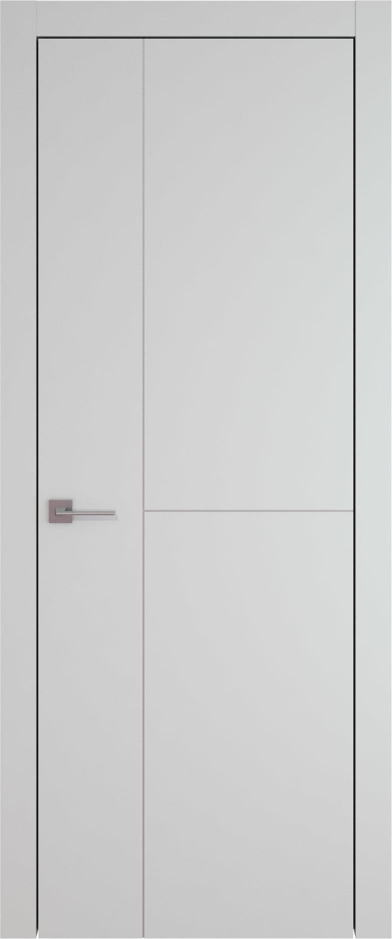 Tivoli Г-1 цвет - Серая эмаль (RAL 7047) Без стекла (ДГ)