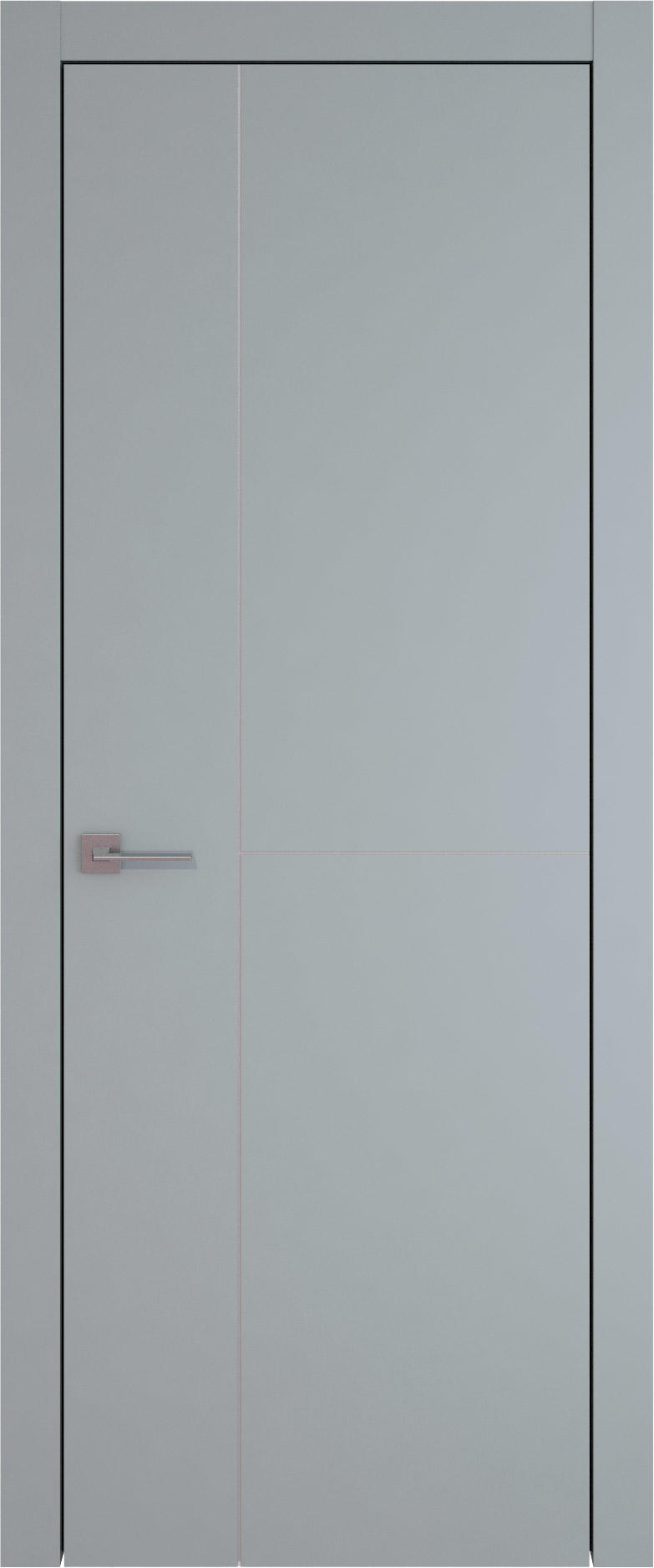 Tivoli Г-1 цвет - Серебристо-серая эмаль (RAL 7045) Без стекла (ДГ)