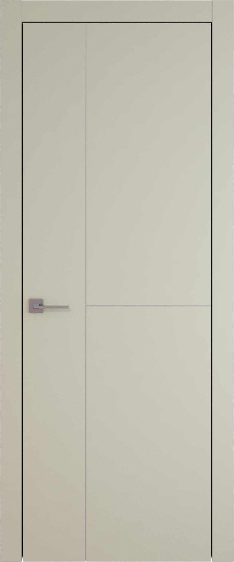 Tivoli Г-1 цвет - Серо-оливковая эмаль (RAL 7032) Без стекла (ДГ)