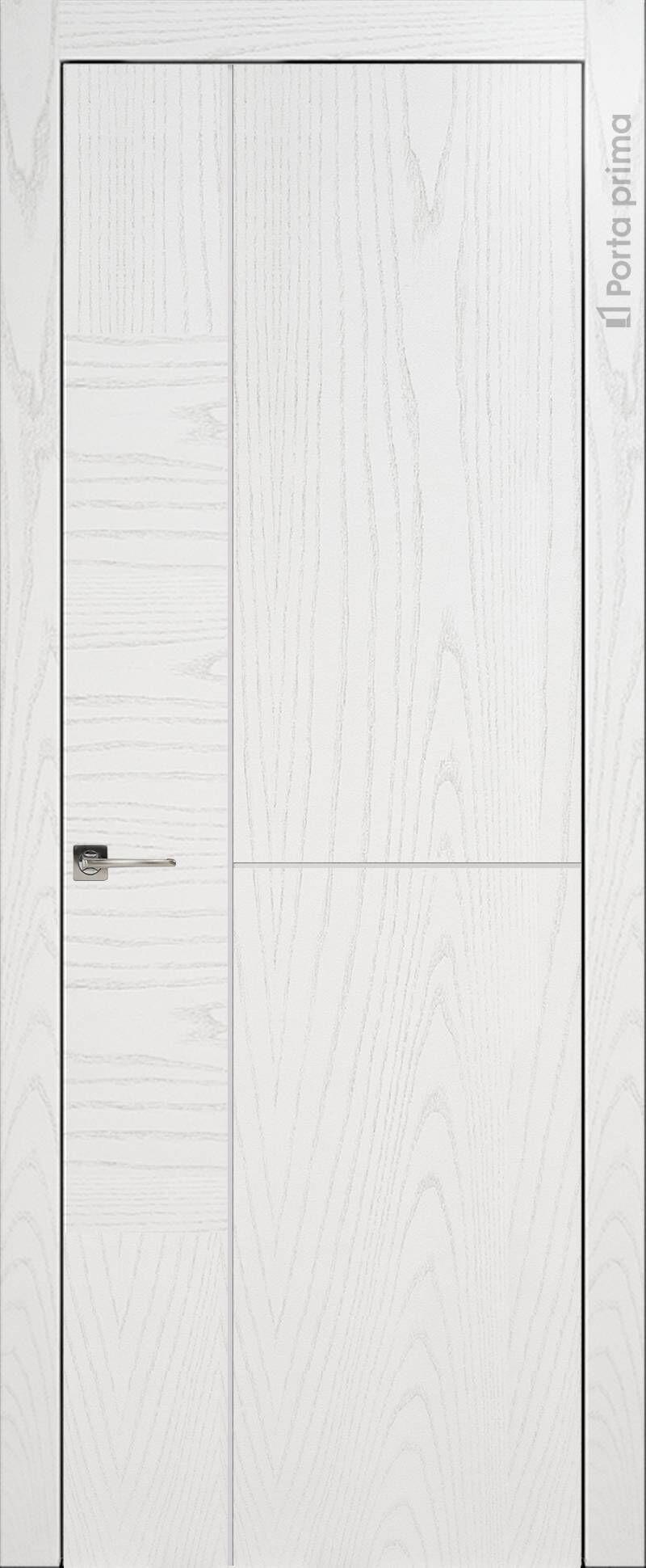 Tivoli Г-1 цвет - Белый ясень (шпон) Без стекла (ДГ)