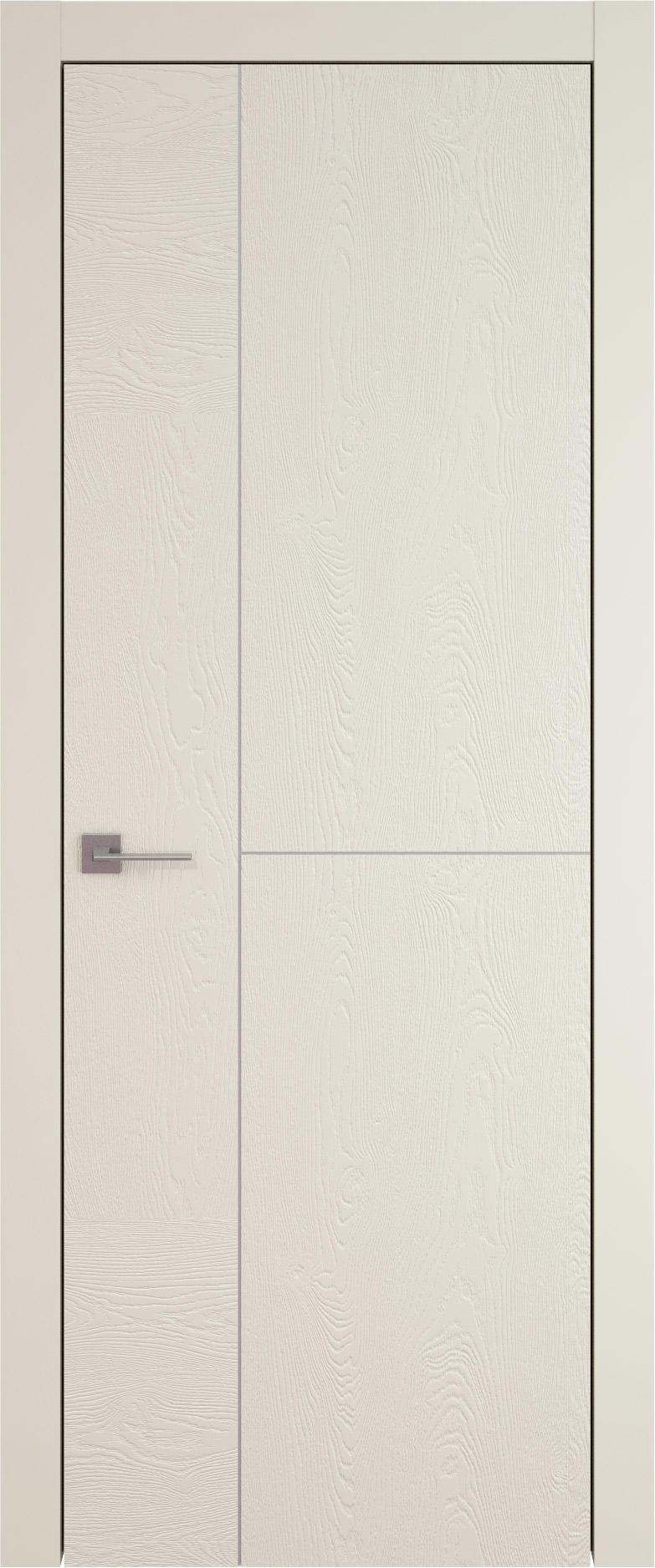 Tivoli Г-1 цвет - Жемчужная эмаль по шпону (RAL 1013) Без стекла (ДГ)