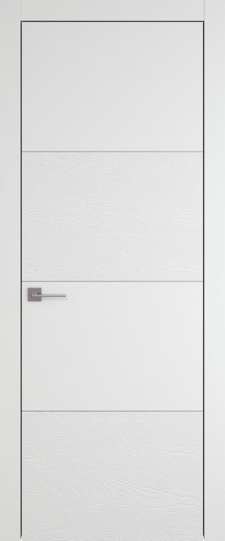 Tivoli Г-2 цвет - Белая эмаль-эмаль по шпону (RAL 9003) Без стекла (ДГ)