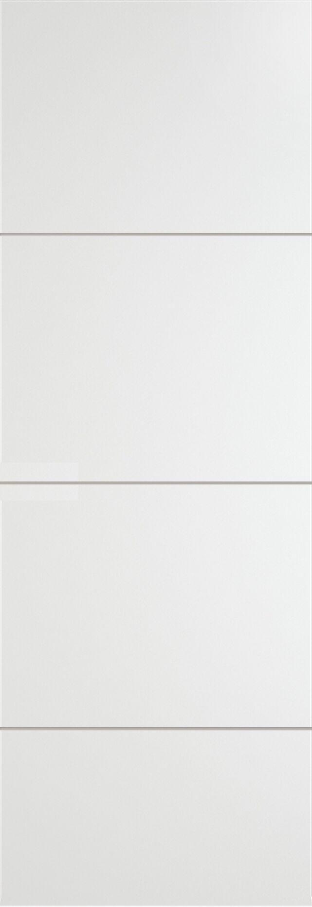 Tivoli Г-2 Invisible цвет - Белая эмаль Без стекла (ДГ)