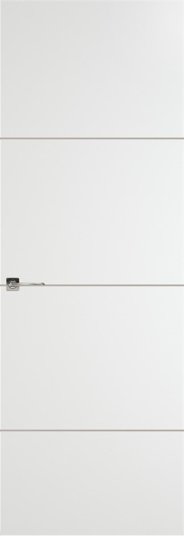 Tivoli Г-2 Невидимка цвет - Белая эмаль Без стекла (ДГ)