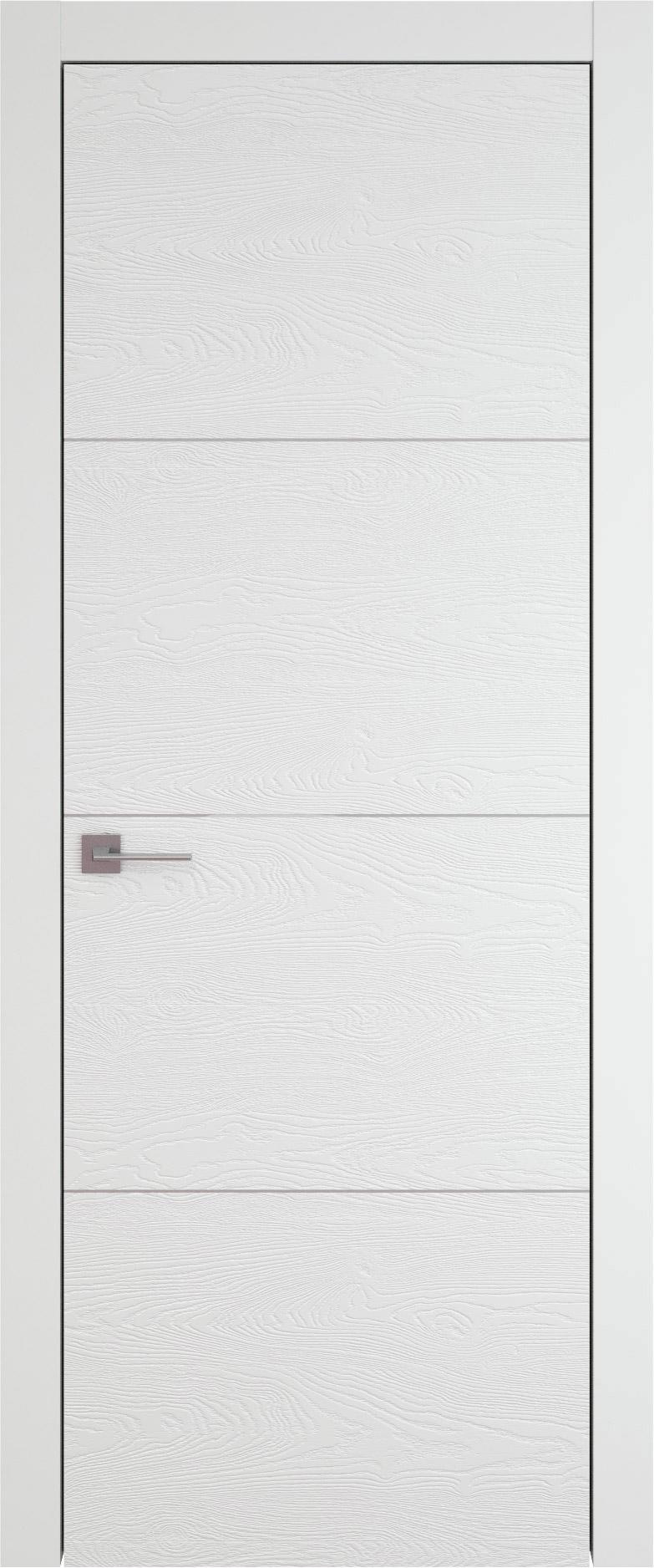 Tivoli Г-2 цвет - Белая эмаль по шпону (RAL 9003) Без стекла (ДГ)