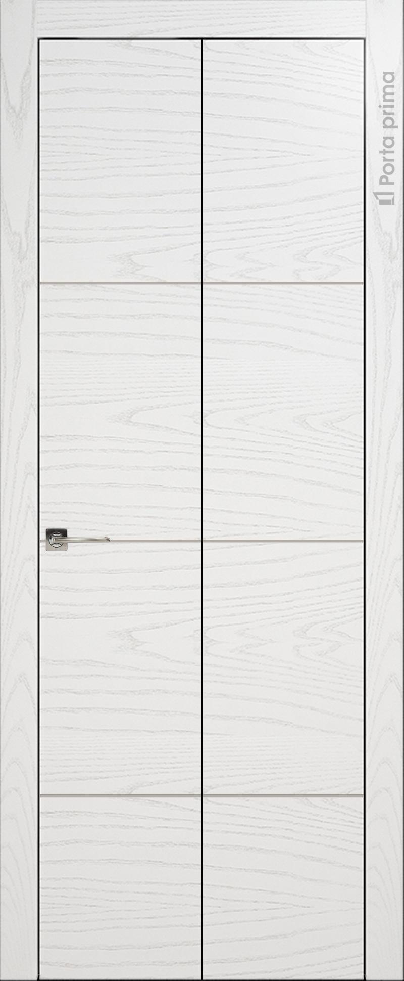 Tivoli Г-2 Книжка цвет - Белый ясень Без стекла (ДГ)