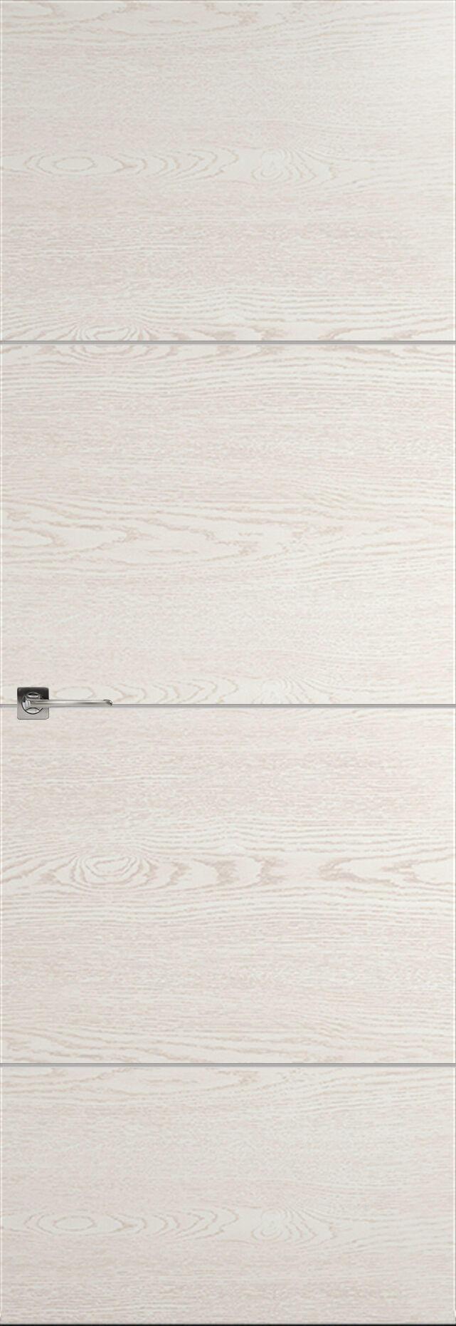 Tivoli Г-2 Невидимка цвет - Белый ясень Без стекла (ДГ)