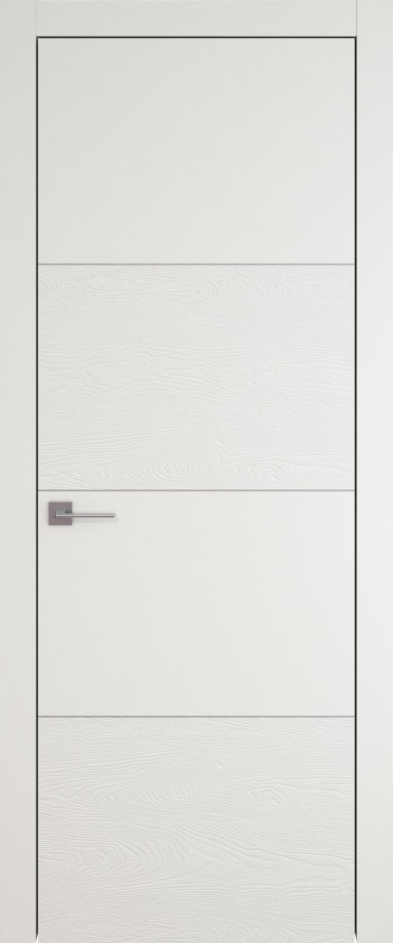 Tivoli Г-2 цвет - Бежевая эмаль-эмаль по шпону (RAL 9010) Без стекла (ДГ)