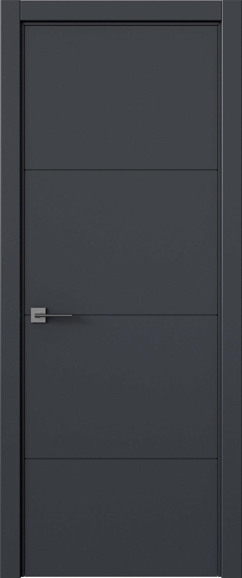 Tivoli Г-2 цвет - Графитово-серая эмаль (RAL 7024) Без стекла (ДГ)