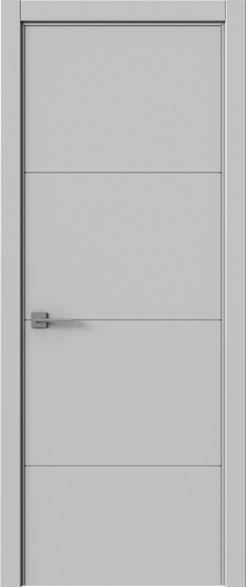 Tivoli Г-2 цвет - Серая эмаль (RAL 7047) Без стекла (ДГ)