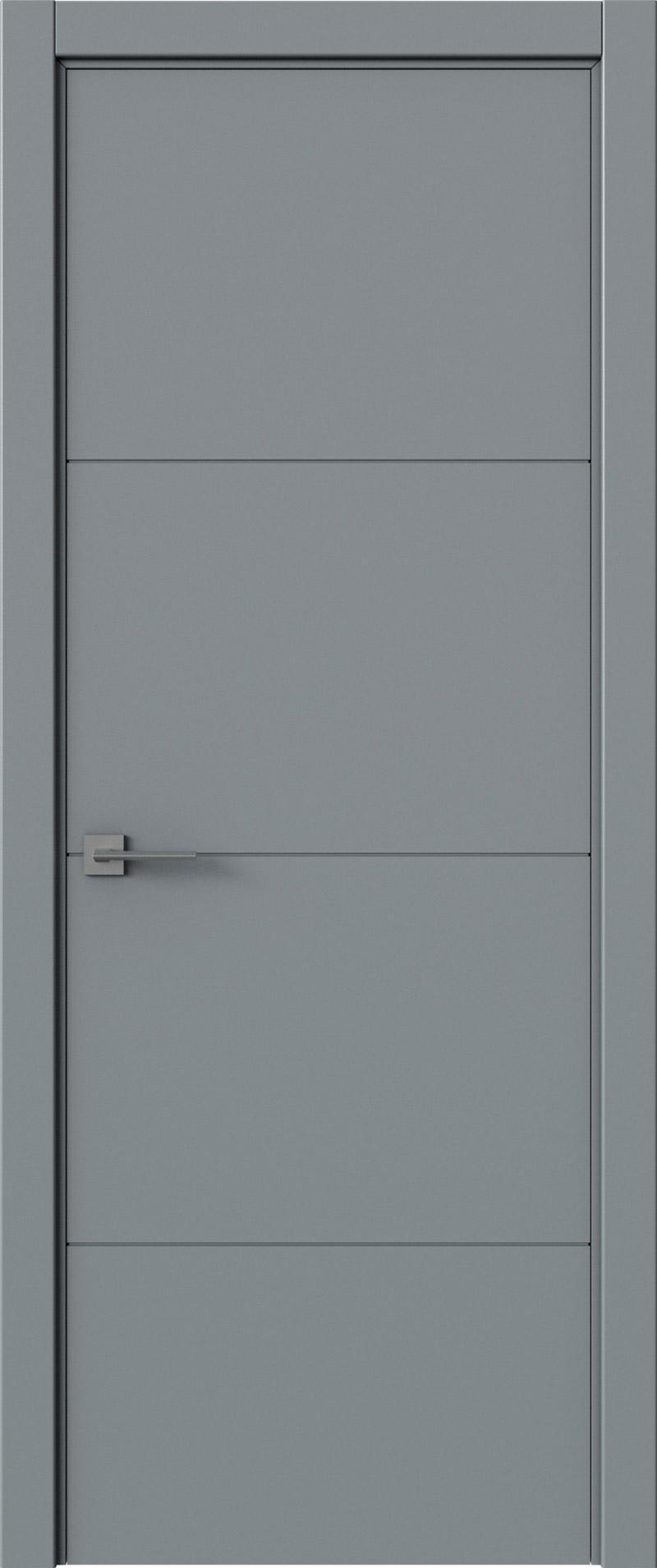 Tivoli Г-2 цвет - Серебристо-серая эмаль (RAL 7045) Без стекла (ДГ)