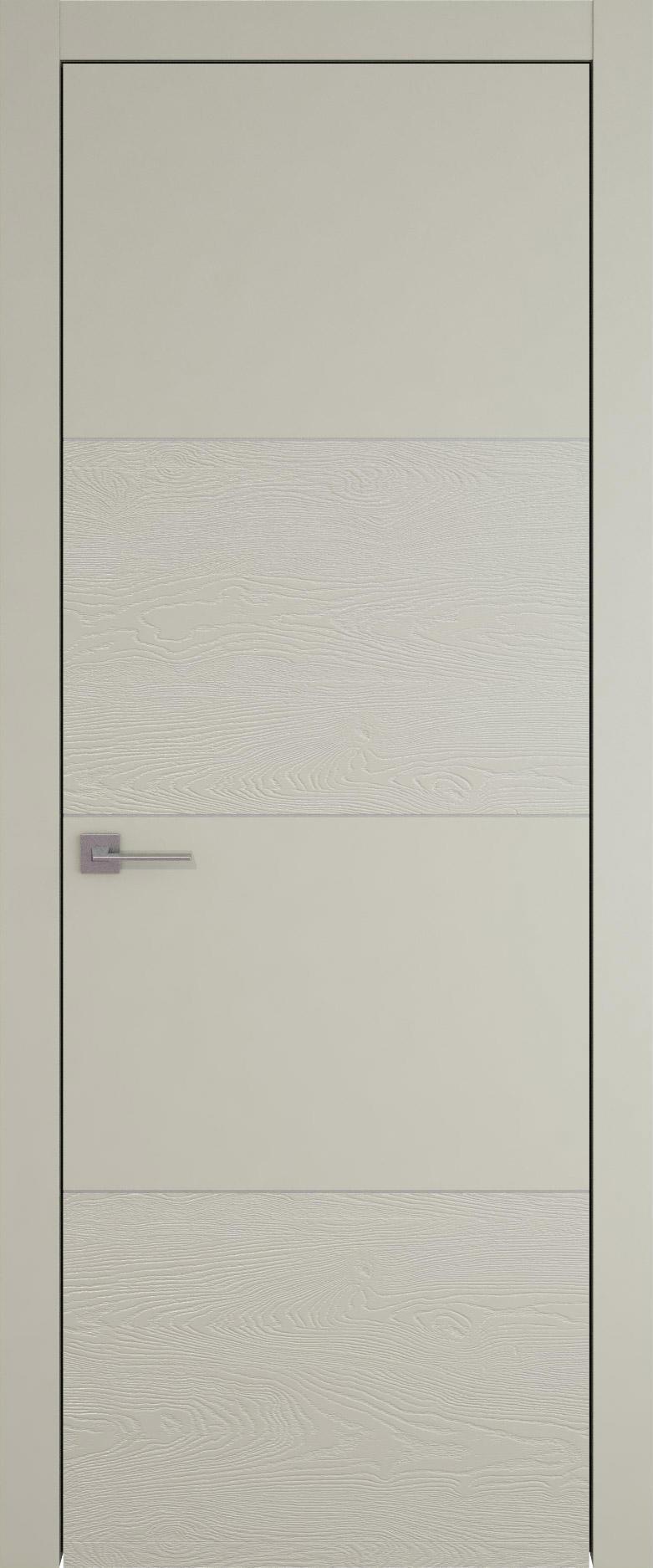 Tivoli Г-2 цвет - Серо-оливковая эмаль-эмаль по шпону (RAL 7032) Без стекла (ДГ)