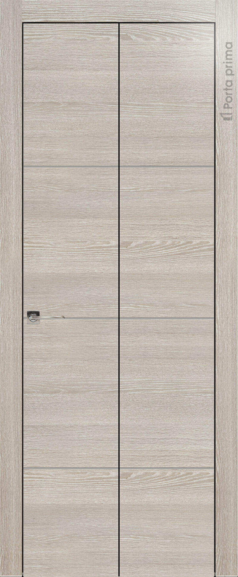 Tivoli Г-2 Книжка цвет - Серый дуб Без стекла (ДГ)
