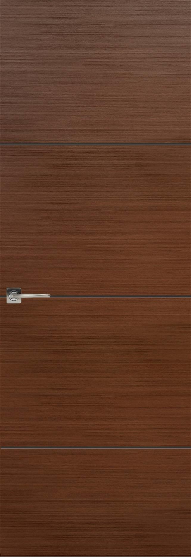 Tivoli Г-2 Invisible цвет - Темный орех Без стекла (ДГ)