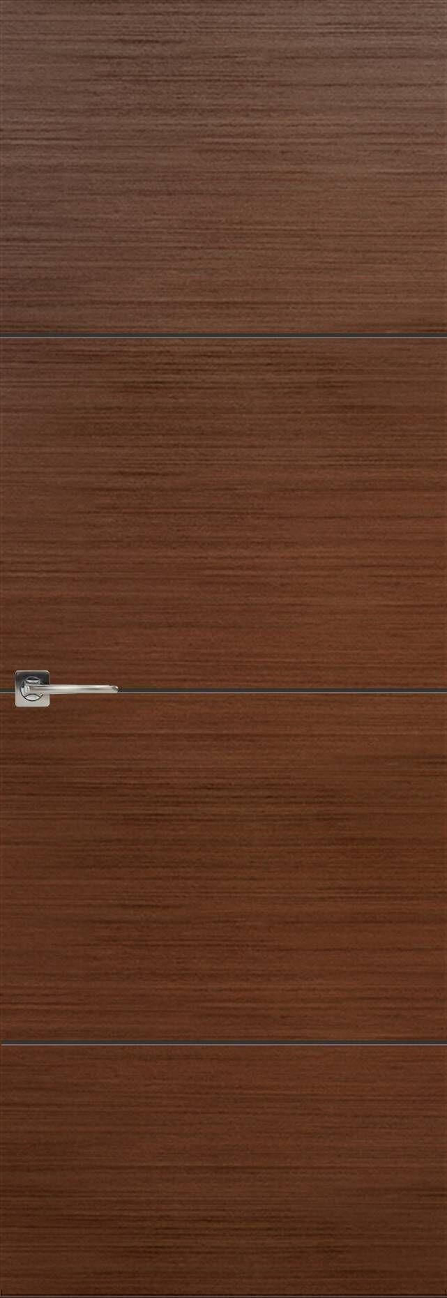 Tivoli Г-2 Невидимка цвет - Темный орех Без стекла (ДГ)