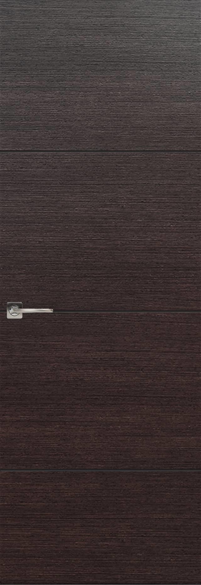 Tivoli Г-2 Invisible цвет - Венге Шоколад Без стекла (ДГ)