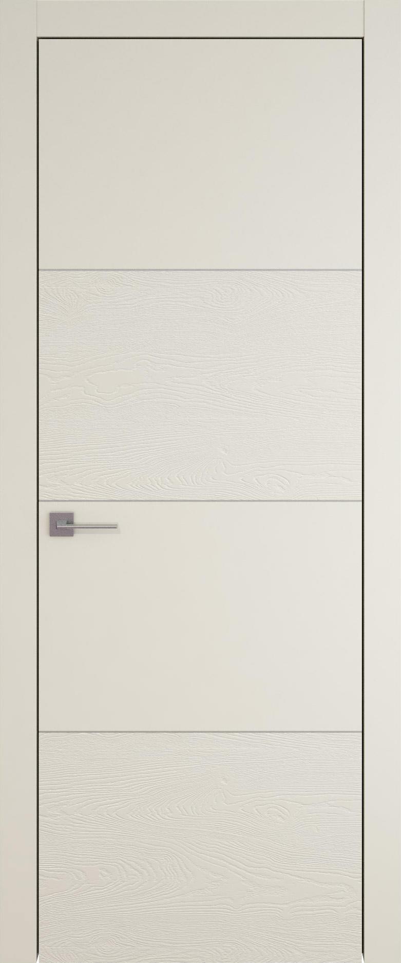 Tivoli Г-2 цвет - Жемчужная эмаль-эмаль по шпону (RAL 1013) Без стекла (ДГ)