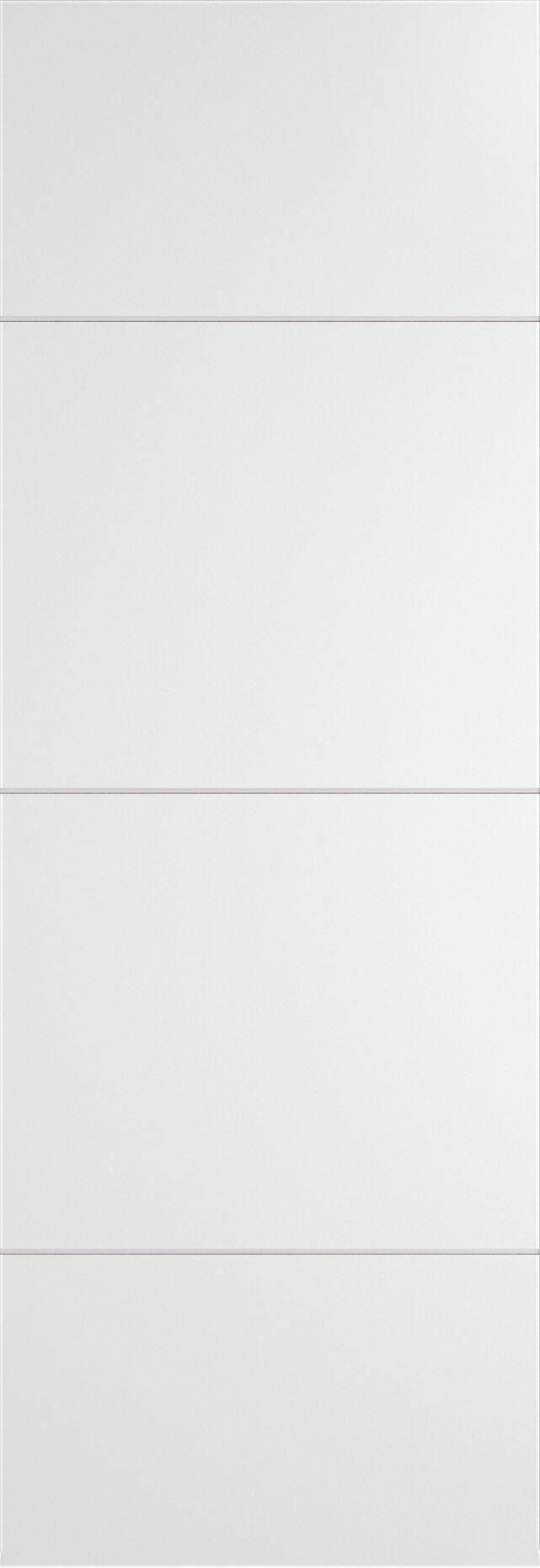 Tivoli Г-3 Invisible цвет - Белая эмаль Без стекла (ДГ)