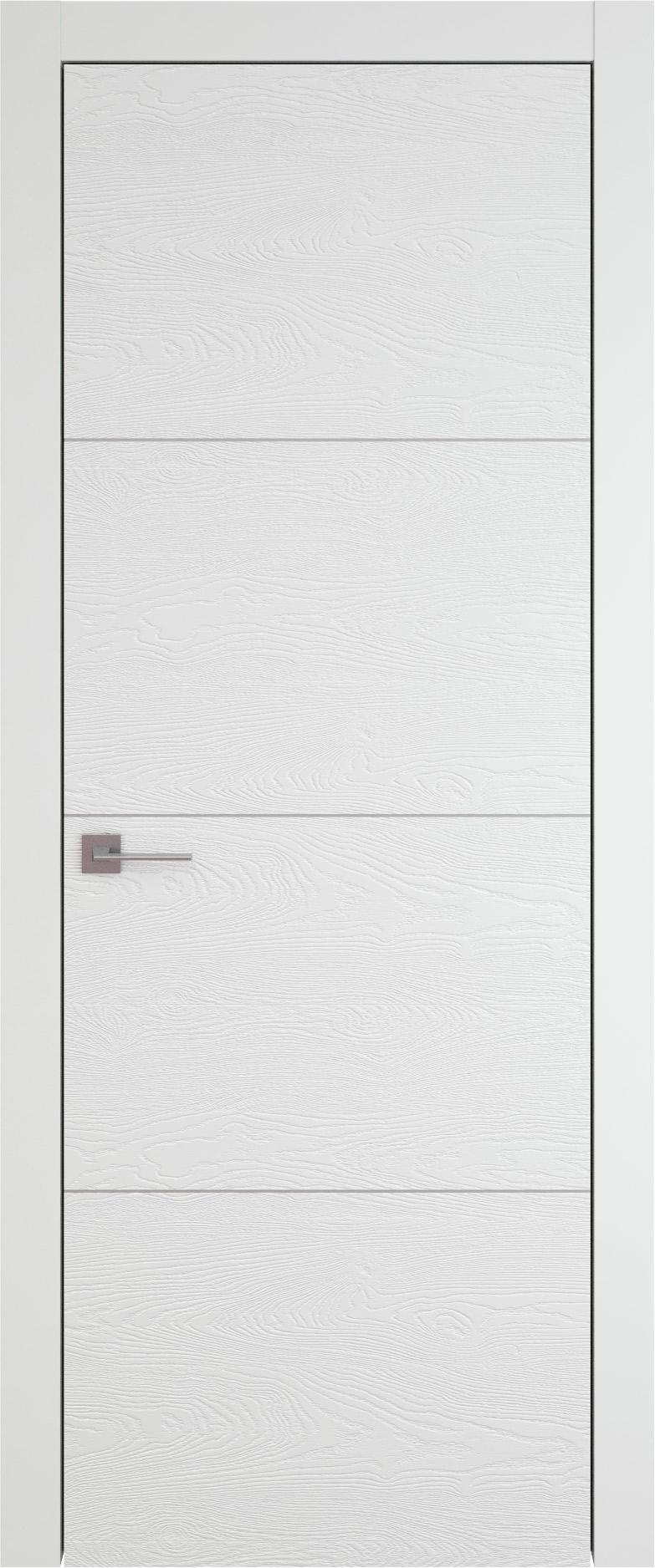 Tivoli Г-3 цвет - Белая эмаль по шпону (RAL 9003) Без стекла (ДГ)