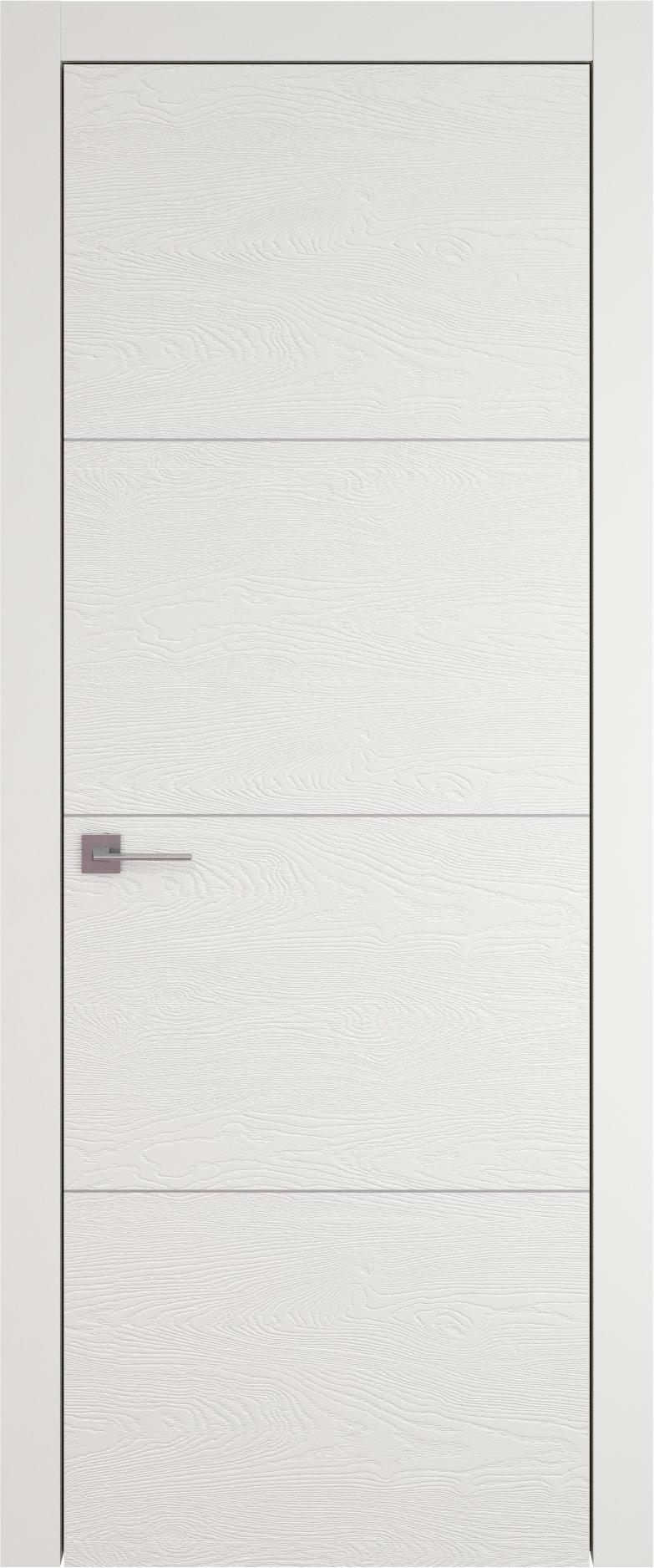 Tivoli Г-3 цвет - Бежевая эмаль по шпону (RAL 9010) Без стекла (ДГ)