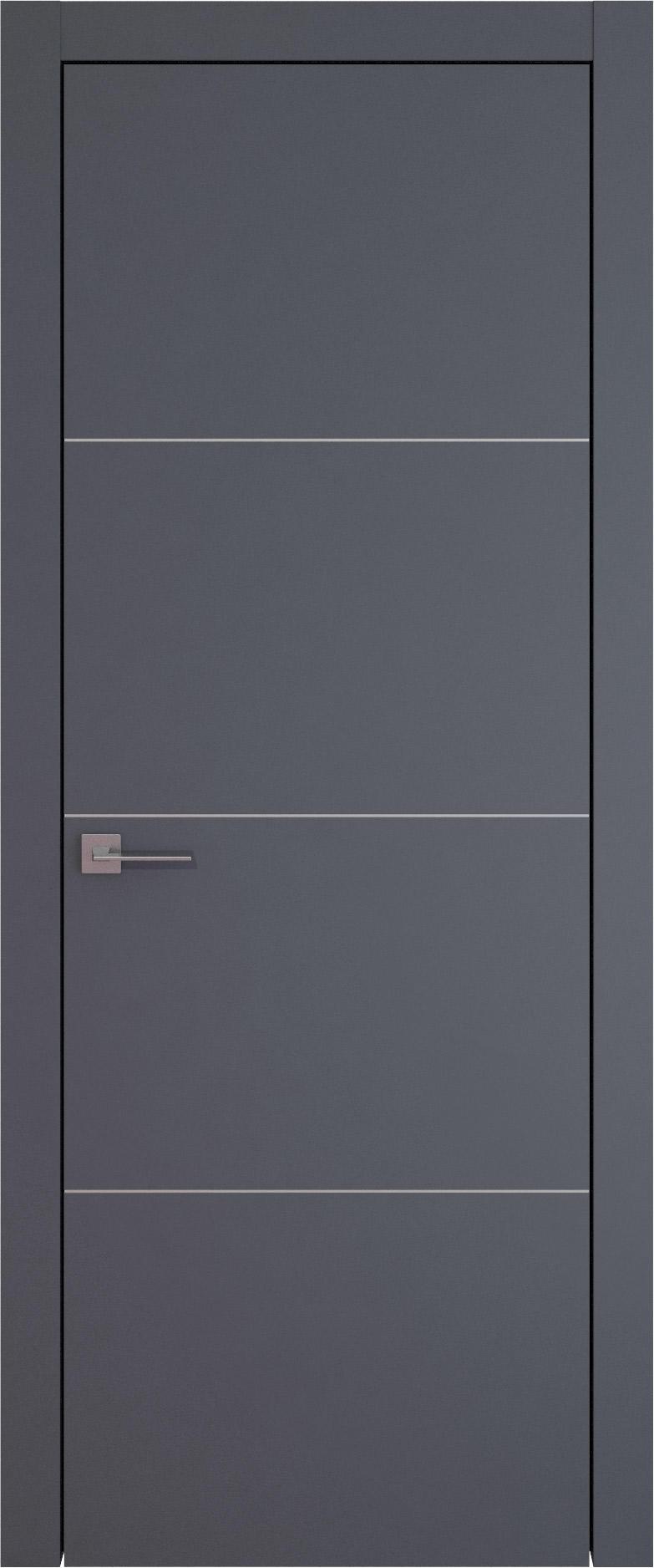 Tivoli Г-3 цвет - Графитово-серая эмаль (RAL 7024) Без стекла (ДГ)