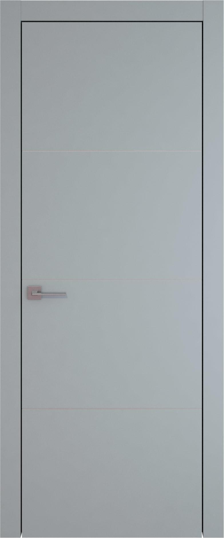 Tivoli Г-3 цвет - Серебристо-серая эмаль (RAL 7045) Без стекла (ДГ)