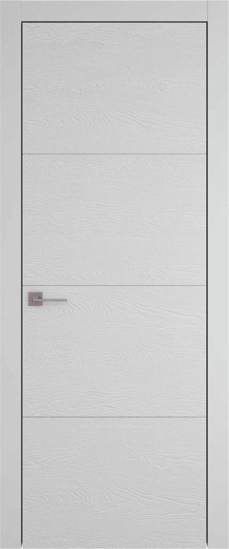 Tivoli Г-3 цвет - Серая эмаль по шпону (RAL 7047) Без стекла (ДГ)