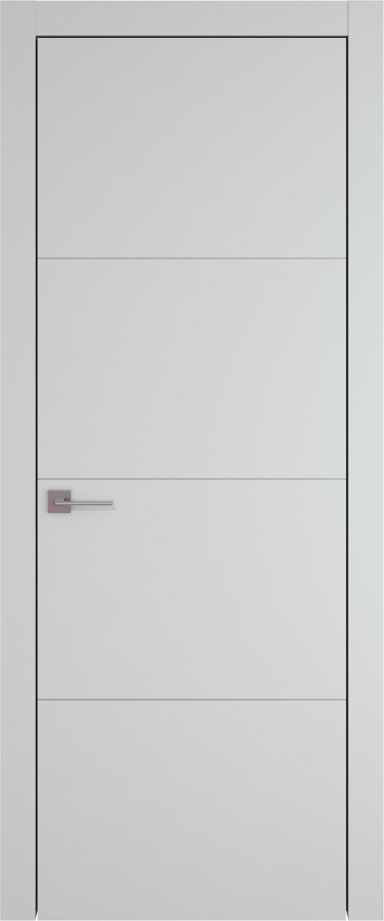 Tivoli Г-3 цвет - Серая эмаль (RAL 7047) Без стекла (ДГ)