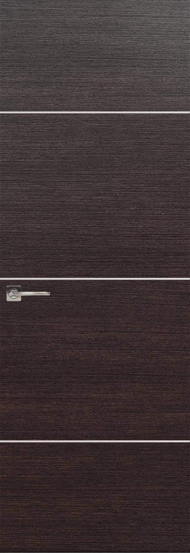 Tivoli Г-3 Invisible цвет - Венге Шоколад Без стекла (ДГ)