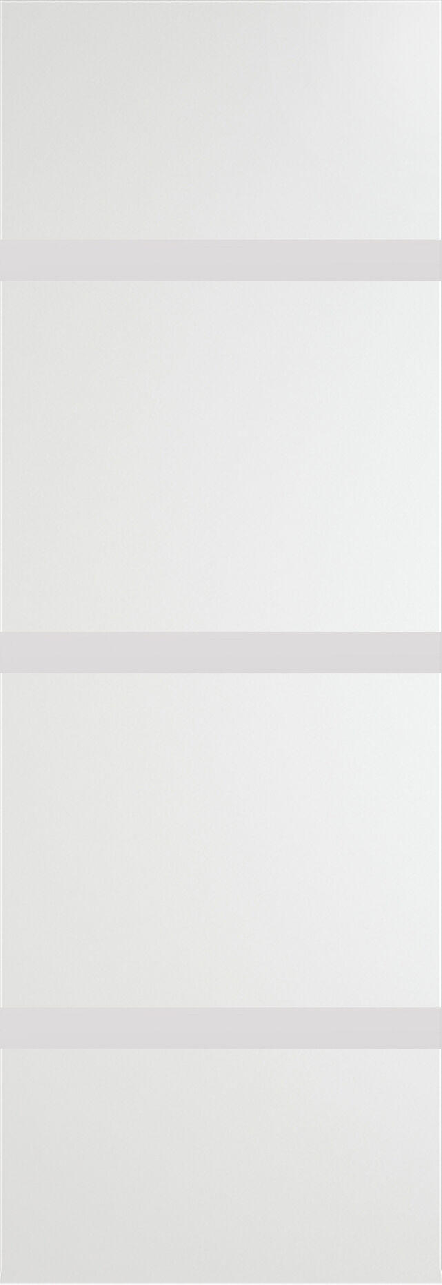 Tivoli Г-4 Invisible цвет - Белая эмаль Без стекла (ДГ)