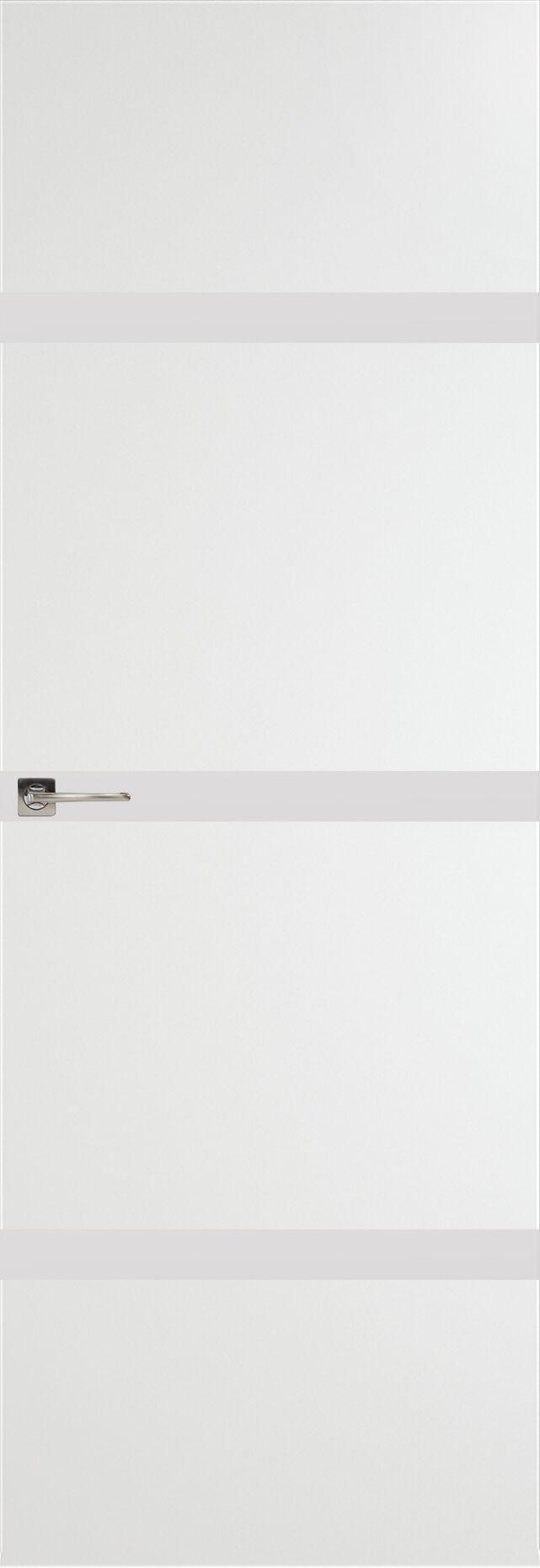 Tivoli Г-4 Невидимка цвет - Белая эмаль Без стекла (ДГ)