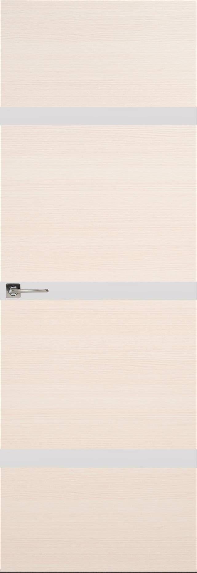 Tivoli Г-4 Невидимка цвет - Беленый дуб Без стекла (ДГ)