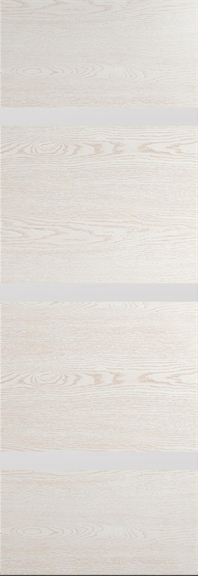 Tivoli Г-4 Invisible цвет - Белый ясень Без стекла (ДГ)