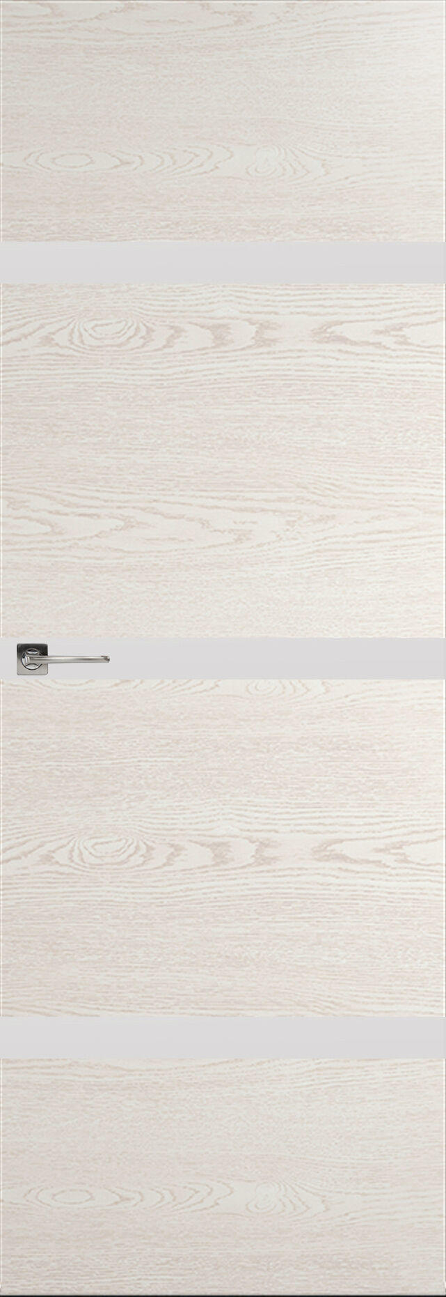 Tivoli Г-4 Невидимка цвет - Белый ясень Без стекла (ДГ)
