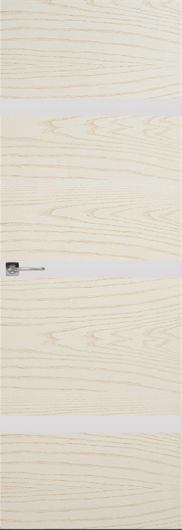 Tivoli Г-4 Invisible цвет - Ясень бежевая эмаль Без стекла (ДГ)
