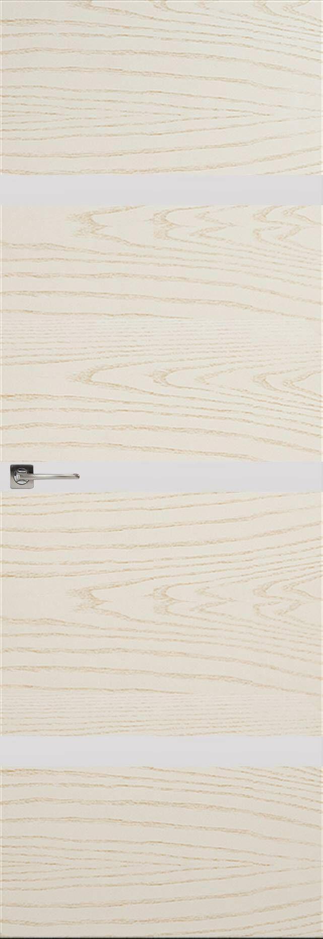 Tivoli Г-4 Невидимка цвет - Ясень бежевая эмаль Без стекла (ДГ)