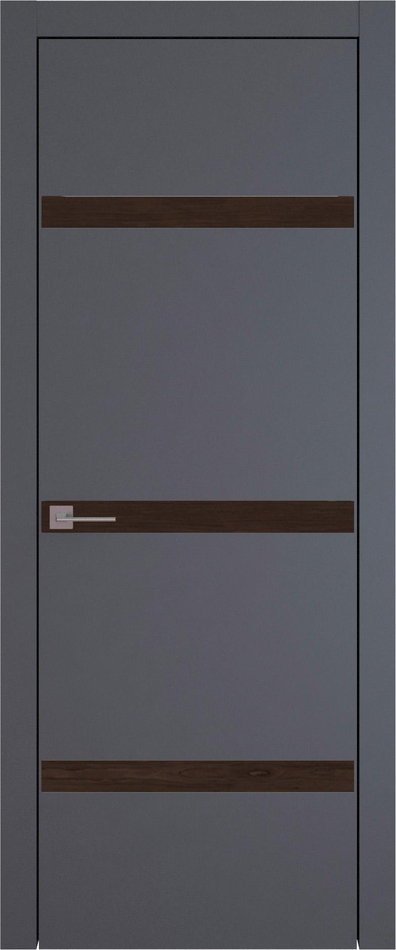 Tivoli Г-4 цвет - Графитово-серая эмаль (RAL 7024) Без стекла (ДГ)