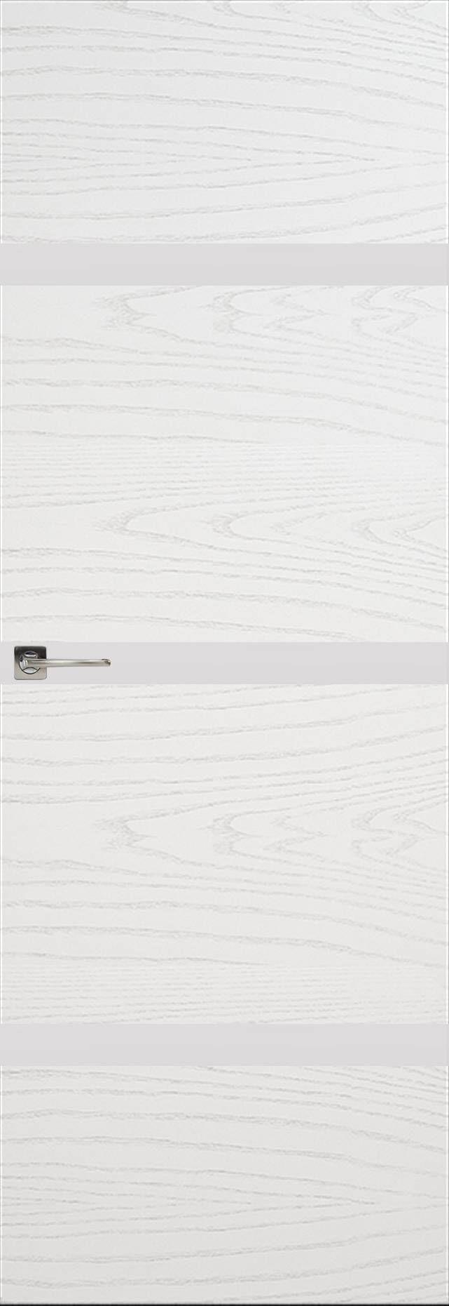 Tivoli Г-4 Невидимка цвет - Ясень белая эмаль Без стекла (ДГ)