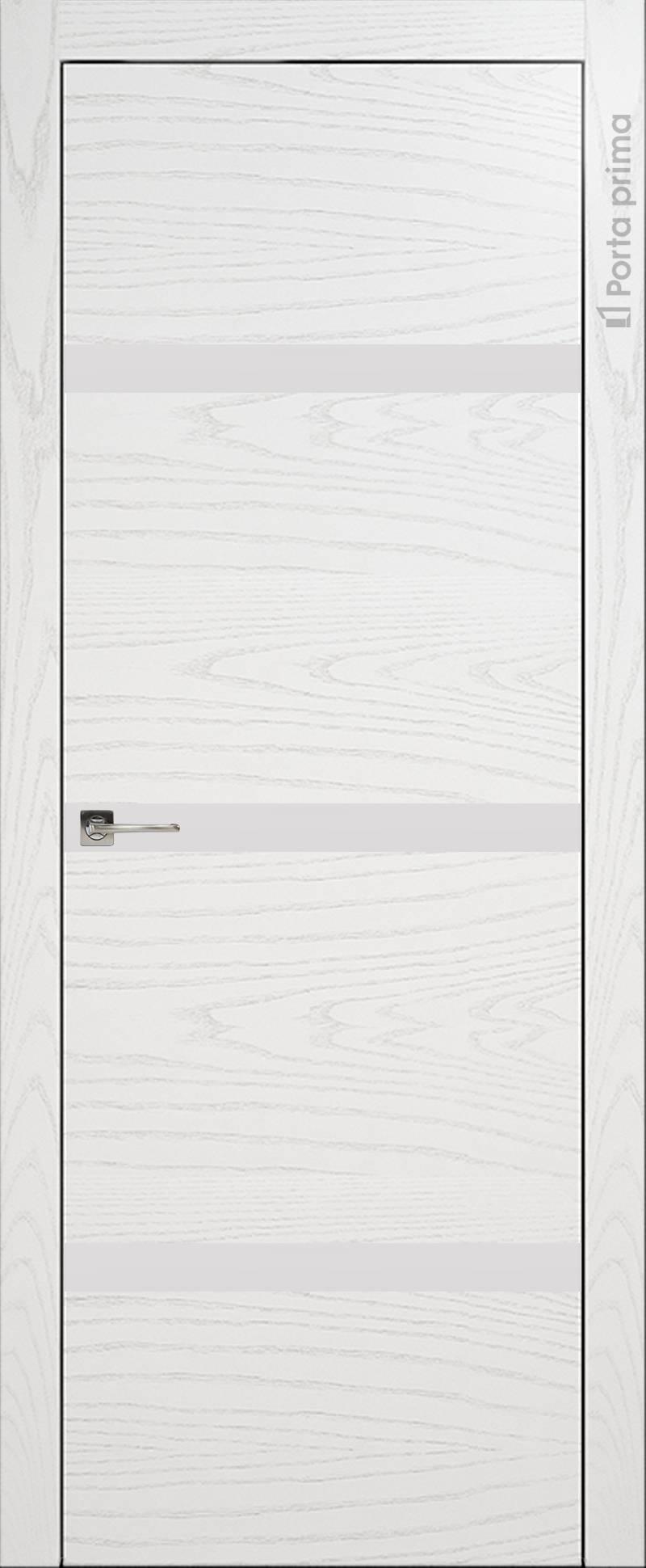 Tivoli Г-4 цвет - Белый ясень (шпон) Без стекла (ДГ)