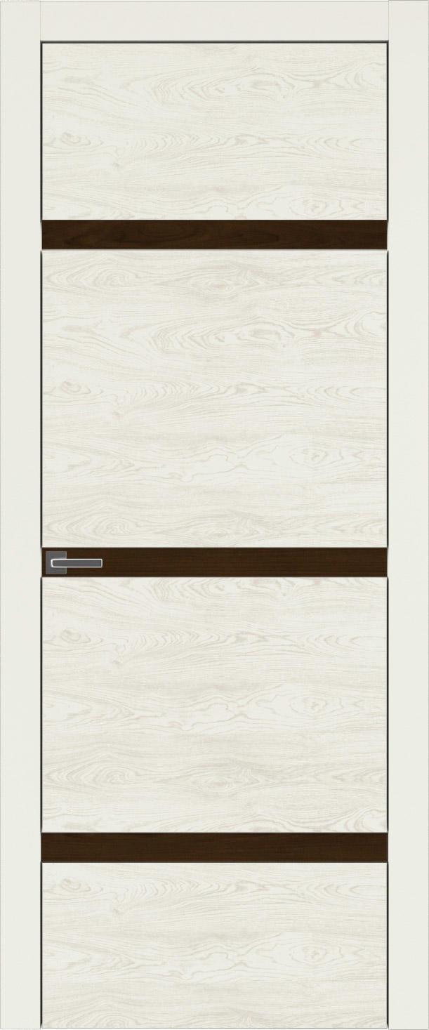 Tivoli Г-4 цвет - Жемчужная эмаль по шпону (RAL 1013) Без стекла (ДГ)