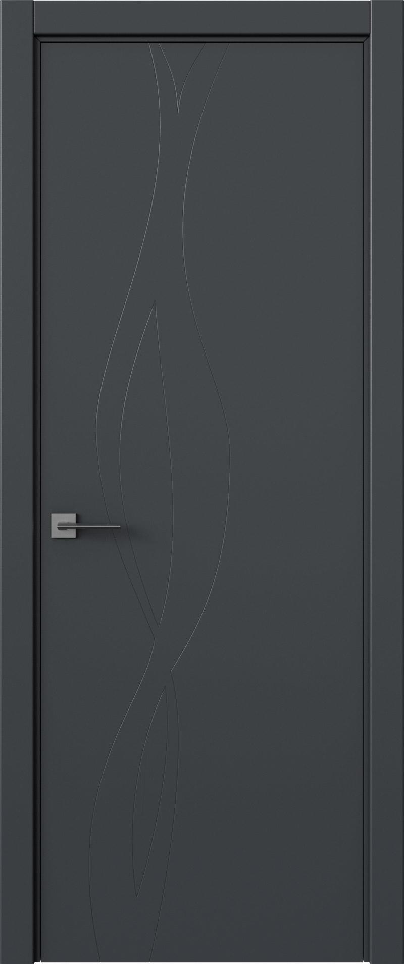 Tivoli Г-5 цвет - Графитово-серая эмаль (RAL 7024) Без стекла (ДГ)